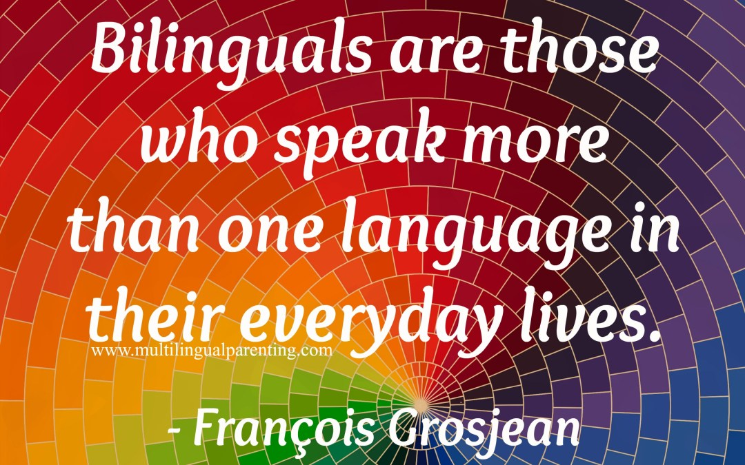 Professor François Grosjean – on bilingualism, language mode and identity