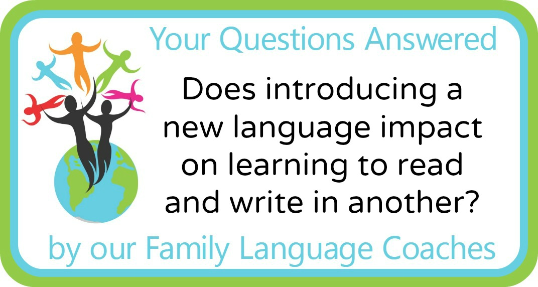 Does introducing a new language impact on learning to read and write in another?