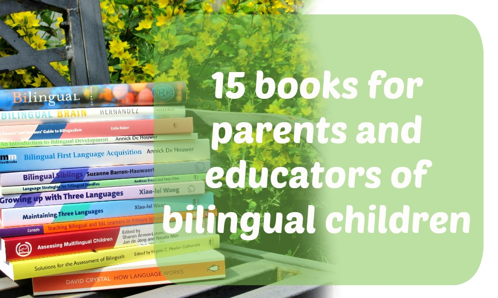 15 books for parents and educators of bilingual children