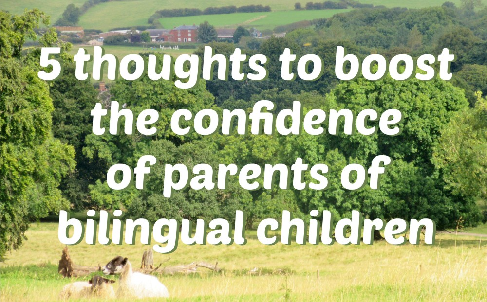 5 thoughts to boost the confidence of parents to bilingual children