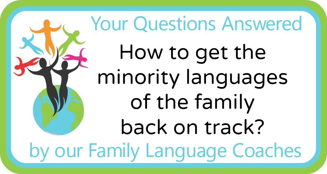 How to get the minority languages of the family back on track?