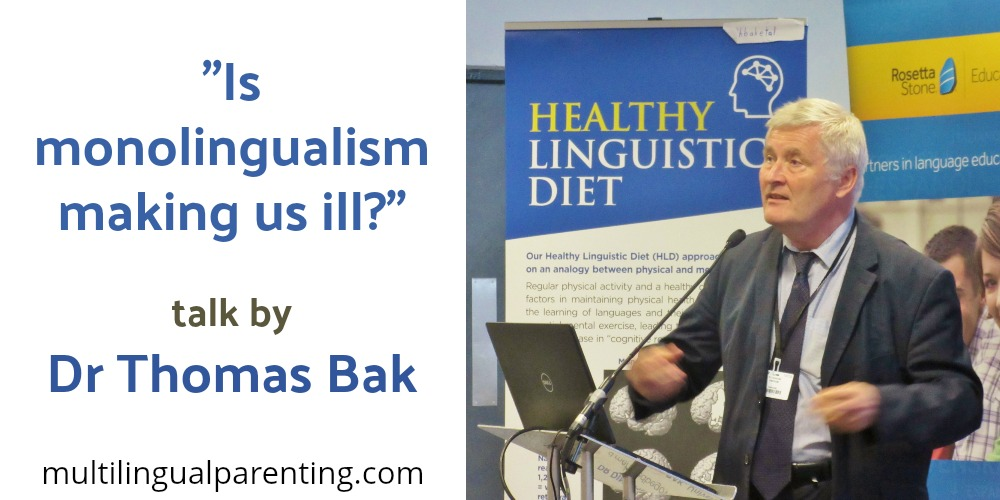 Can monolingualism make you ill?