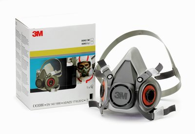 3M™ Reusable Low Maintenance Half Face Mask