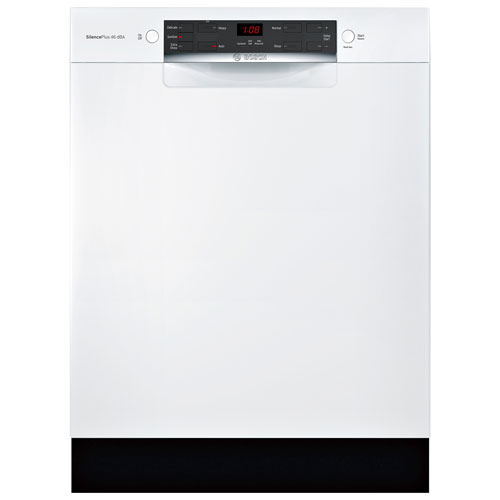 Bosch 300 Series 24 46db Built In Dishwasher Shem53z22c White Best Buy Canada