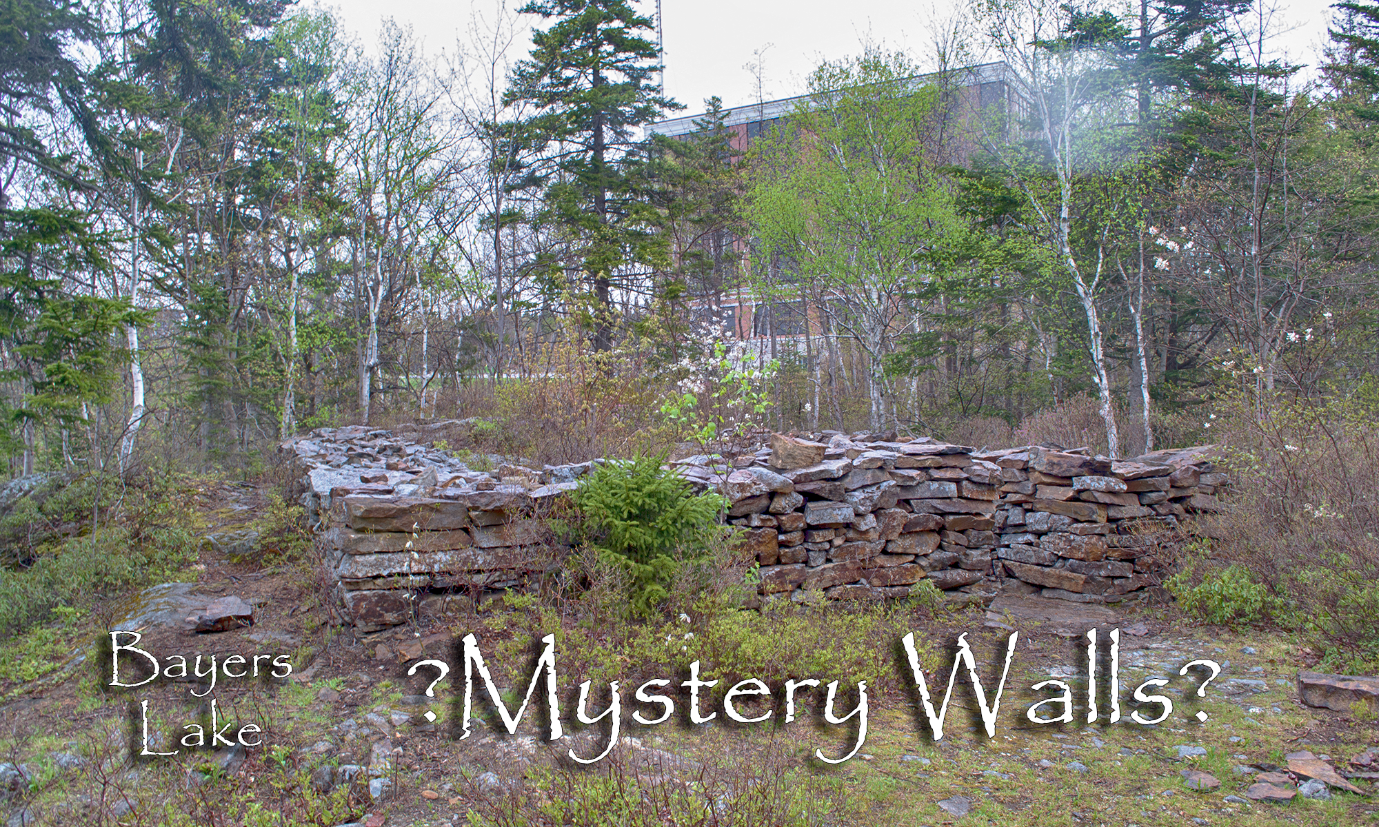 Bayers Lake Mystery Walls Photos