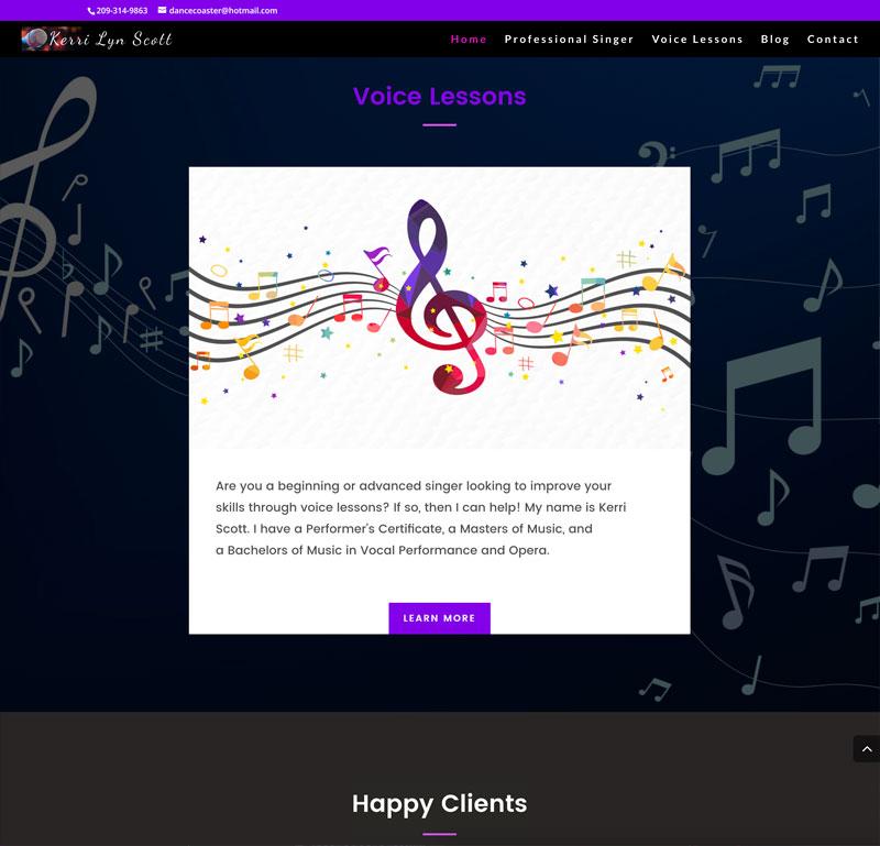 KerriLynScott Website