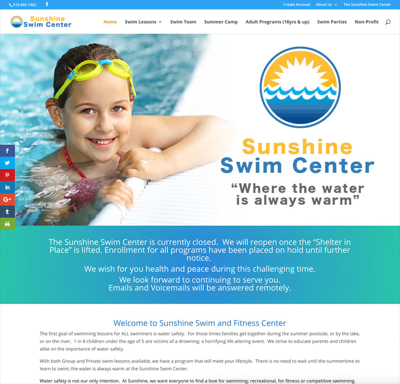 Sunshine Swim Center Elk Grove