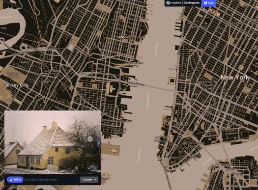 Mapbox Cartogram