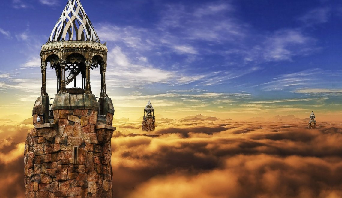 towers in clouds dungeons dragons