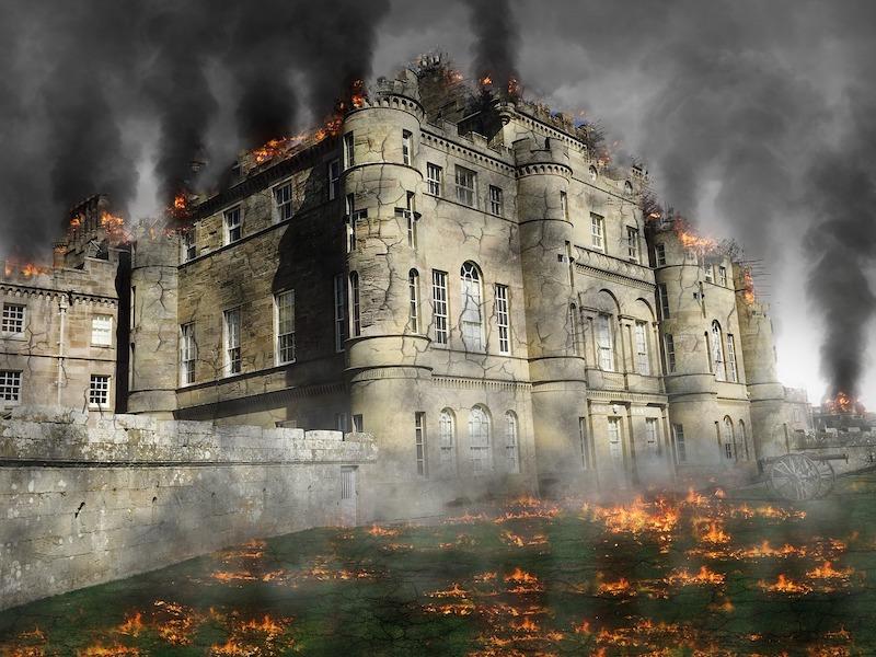 castle attack D&D
