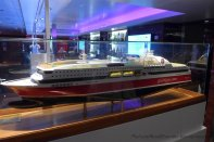 Scale model of the ferry