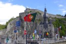 Flying the Portuguese Flag in Dinant!