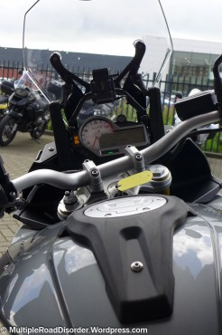 Rider's POV on the S1000XR