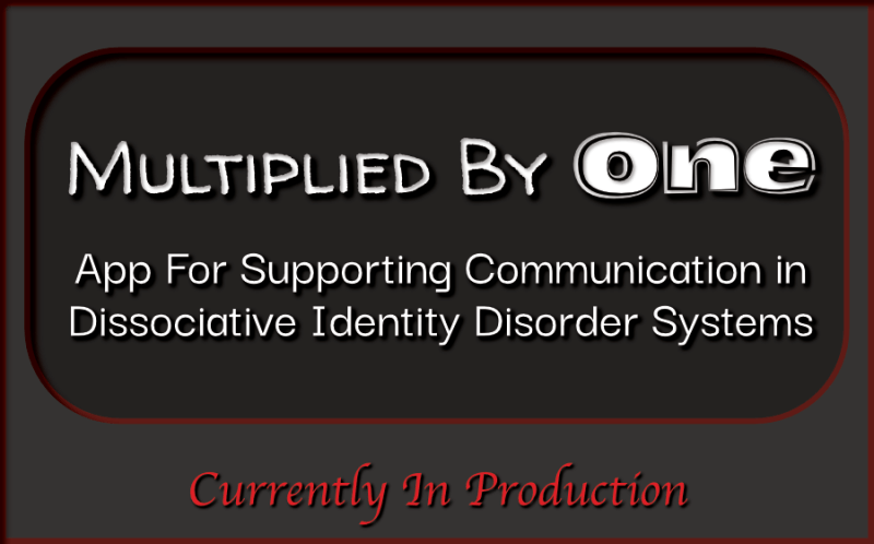 Multiplied By One - App for Dissociative Identity Disorder Systems