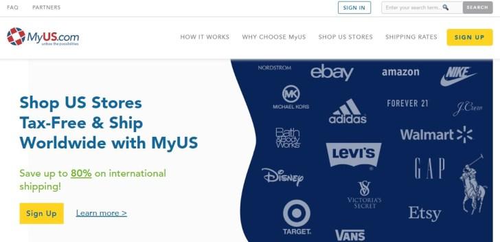 Amazon輸入 MyUS