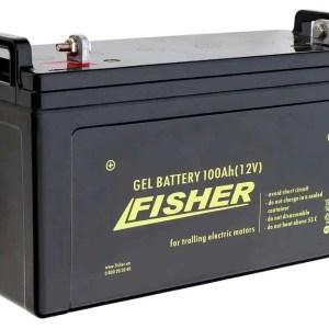 Аккумулятор гелевый Fisher 12V 100Ah