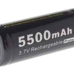 Аккумулятор литиевый Li-Ion 26650 Soshine 3.7V