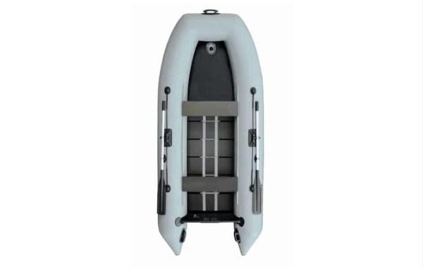 Лодка Parsun Stm 340К NEW серая с гидролыжей