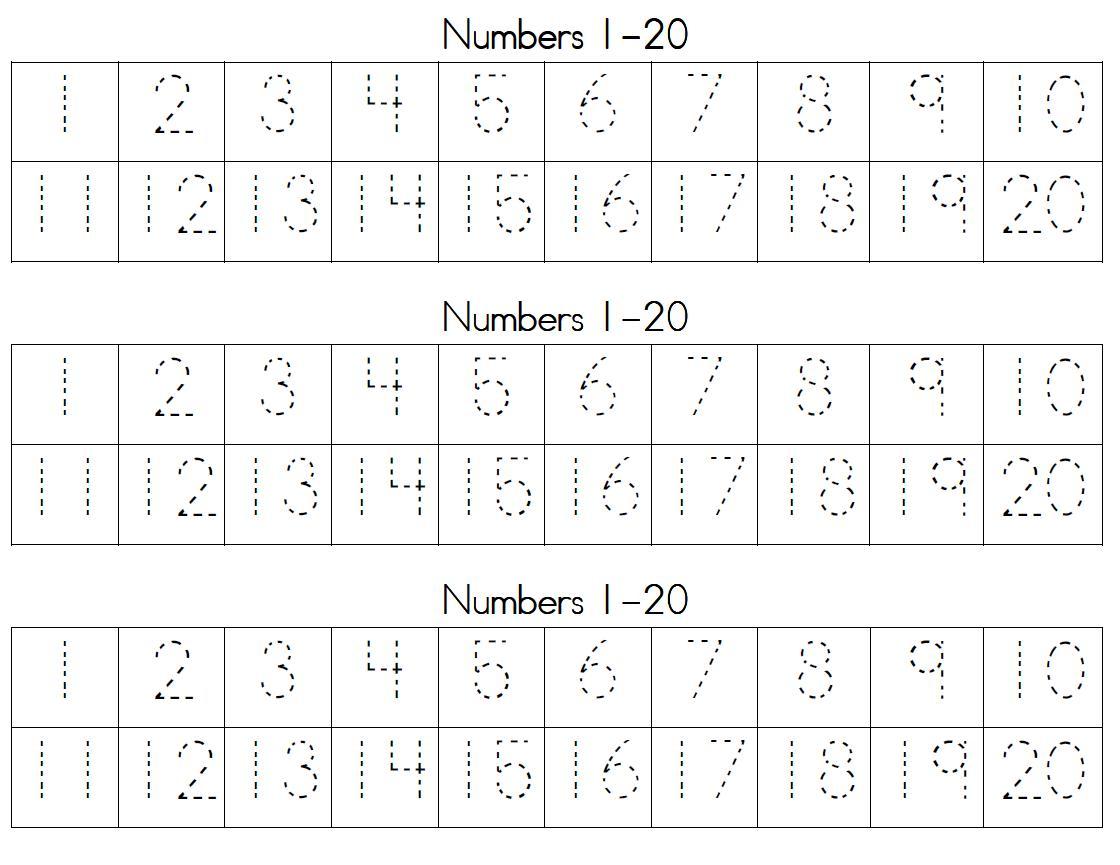 Practice Writing Numbers 21 30 Worksheet