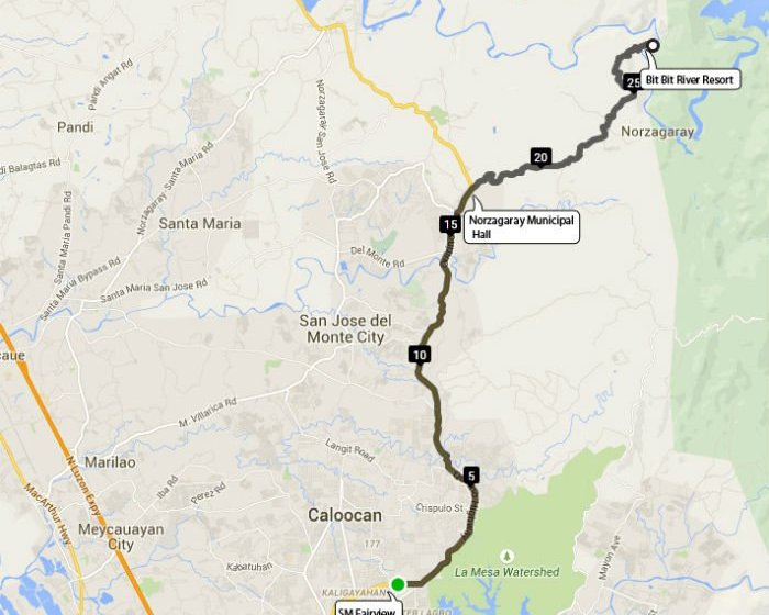 Have Time Head For The Hills Of Norzagaray Bulacan Multisport - Bulacan map philippines