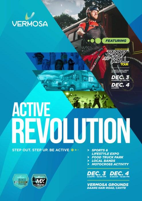 Active Revolution Key Visual Vermosa