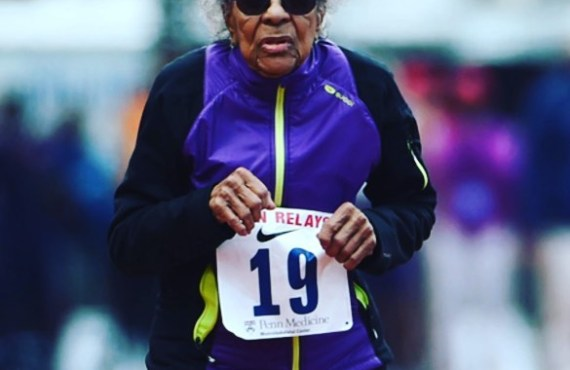 """Running to Me Is Like Medicine,"" Says This 102-Year-Old Runner"