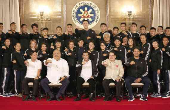 "Duterte to 18th Asian Games PH delegates: ""Do your best,…"