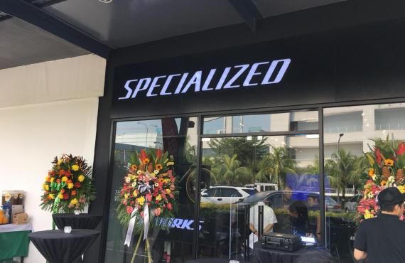 Elite bike brand Specialized opens its first store in the…