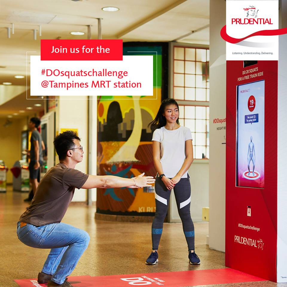 Look: Singapore gives free MRT rides to anyone who can do 20 squats in 40 seconds