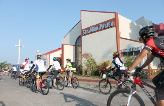 Pedal and pray on a 42-kilometer pilgrimage in Batangas