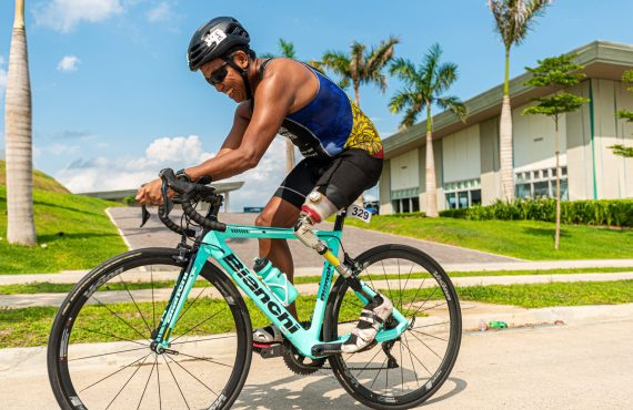 Video: This is how triathlon saved paratriathlete Manny Lobrigo