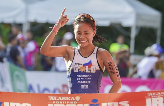 Erediano, Hermosa top IronKids in Cebu