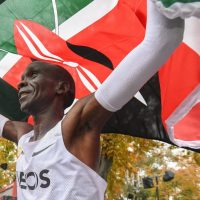 Meet Eliud Kipchoge, the first athlete to finish a marathon under two hours