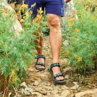 Should I hike in sandals?