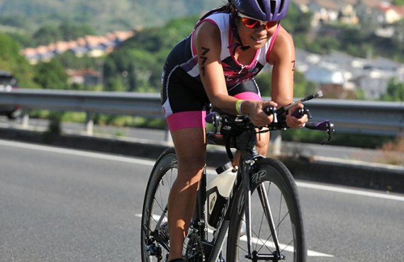 Triathlete Andrea Calleja on surviving aneurysm and finding strength in…