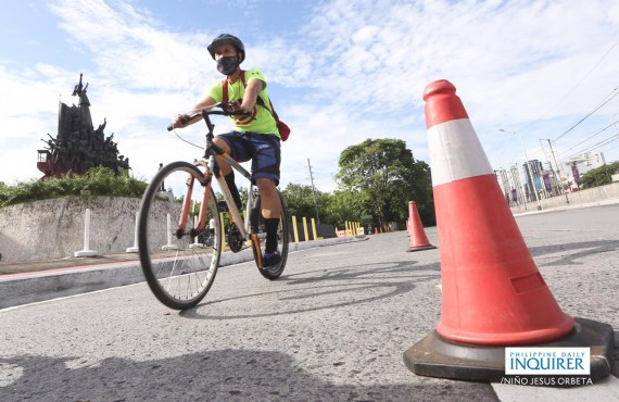 LOOK: Department of Transportation releases EDSA bike lane proposal