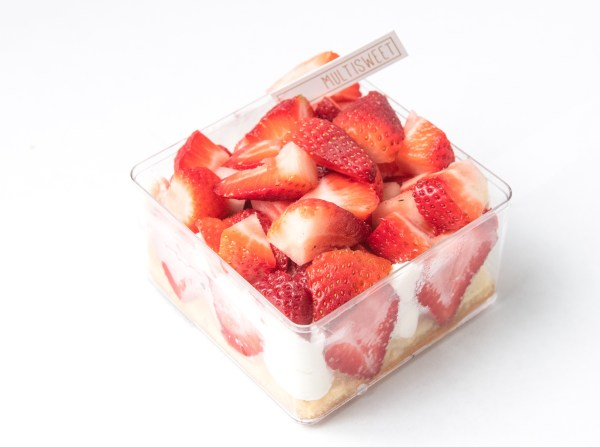 Strawberry Custard Shortcake