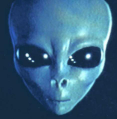 Artist rendering (?) of the aliens in Area 51