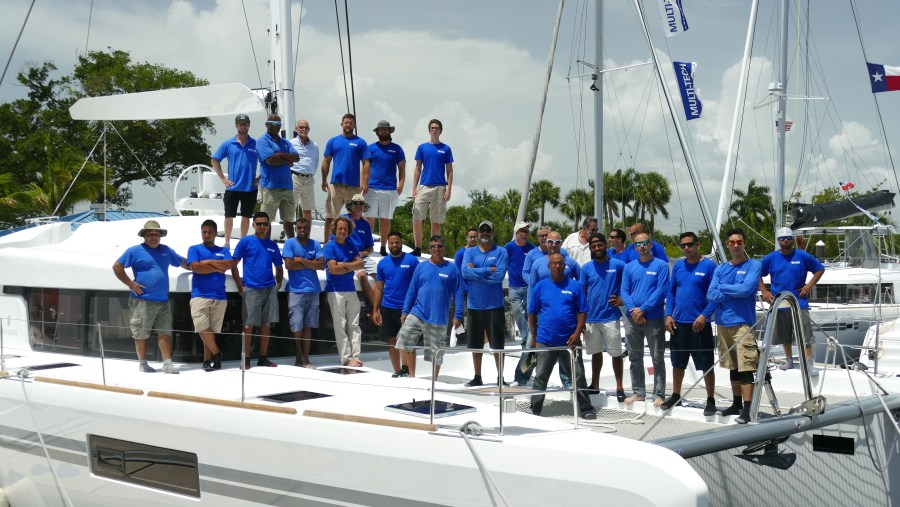 Group shot of the Multitech Team at Fort Lauderdale