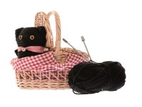 knitting kit cat