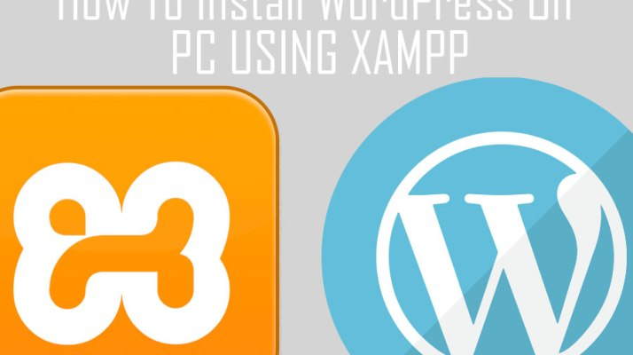 how to install wordpress on pc using xampp