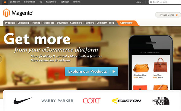 Why Magento is Best choice For Ecommerce Websites