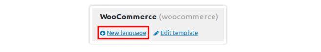 Add Language Link