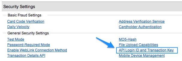 WooCommerce Authorize.Net AIM setup