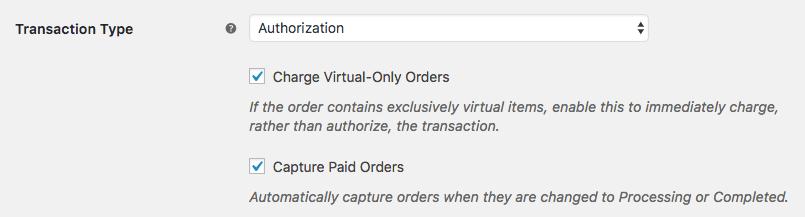 WooCommerce Skyverge Authorization Settings