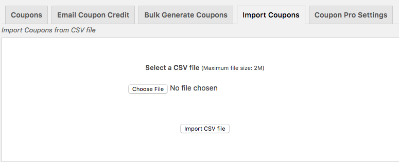 WooCommerce Smart Coupons Import Export
