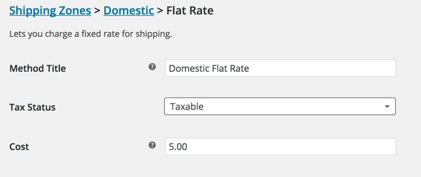 Define flat rate