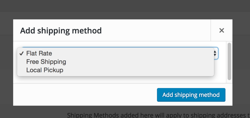 Select free shipping