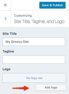 Add Logo Customizer