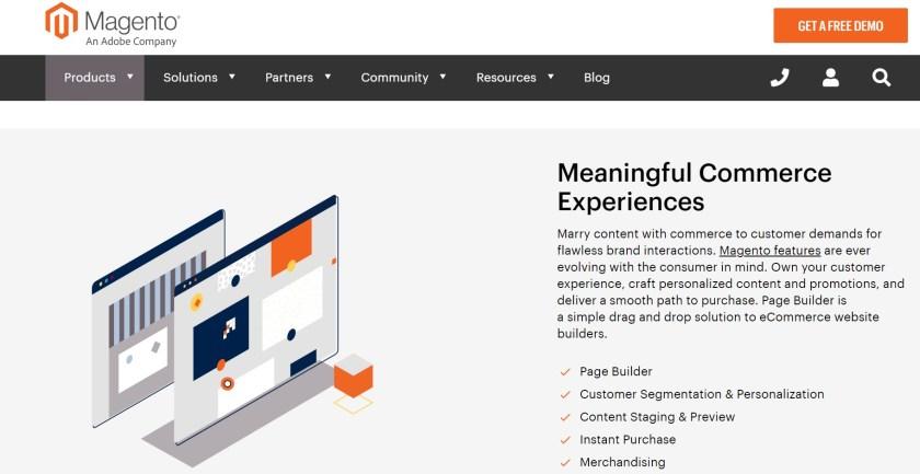 Magento open source eCommerce platform